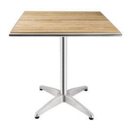 Ash top outside table