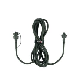 5m Festoon Pro Black Extension Lead, Connectable