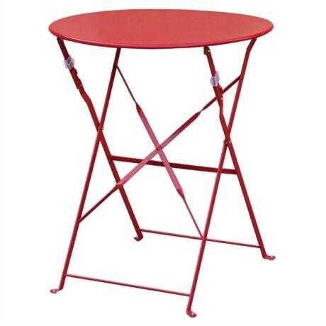 Bolero Grey Pavement Style Table Red