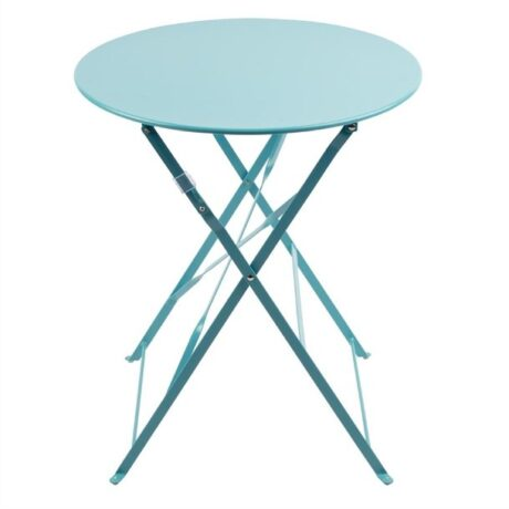 Bolero Grey Pavement Style Table Seaside Blue