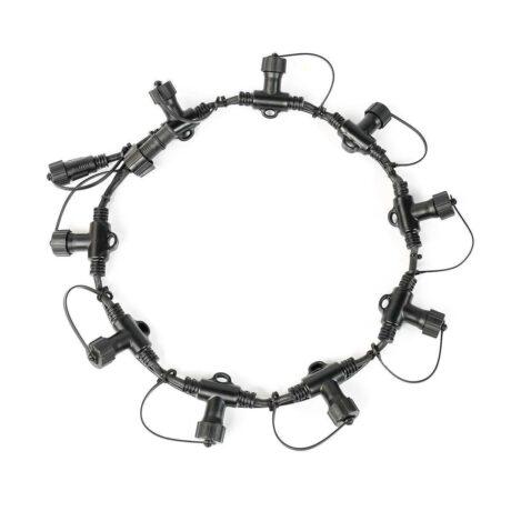 FestoonPro Black Ring Connector